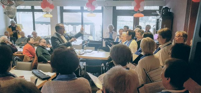 Auftritt beim Sängerkreis Ravensberg